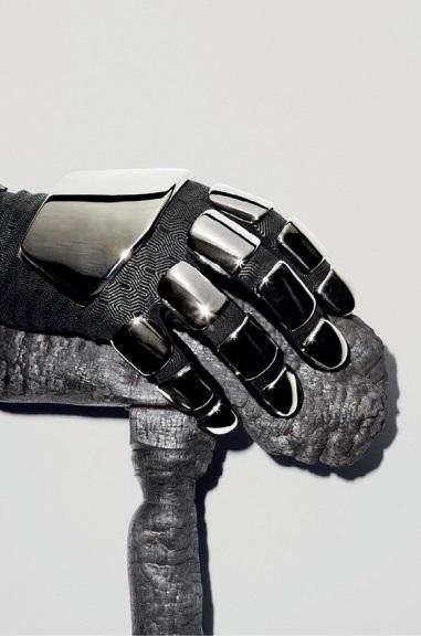 Daft Punk by Maciek Kobielski Saint Laurent Hand