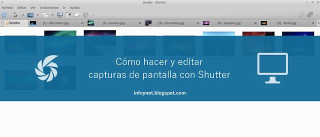 Cómo hacer y editar capturas de pantalla con Shutter
