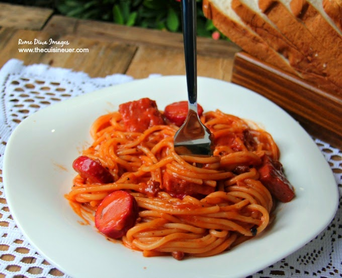 Pinoy-Style Sweet Spaghetti Recipe