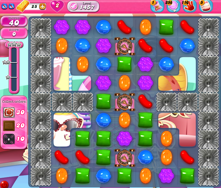 Candy Crush Saga 1457