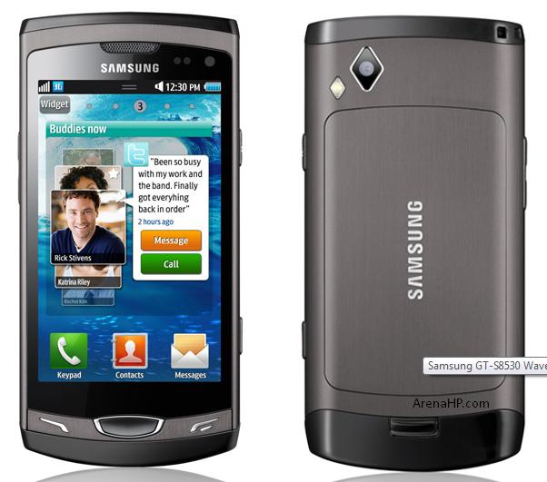 Harga dan Spesifikasi Samsung Wave II GT-S8530 Terbaru