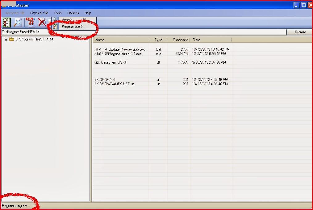 file master fifa 10