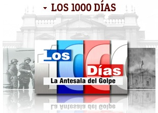 LOS 1000 DIAS , LA ANTESALA DEL GOLPE