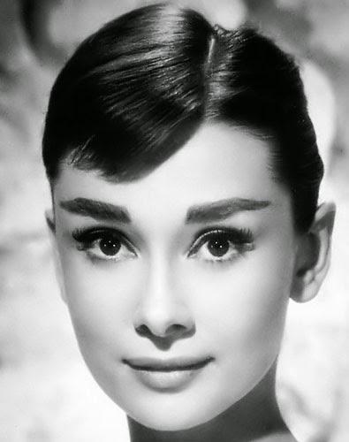 Audrey Hepburn Cat Eye Makeup