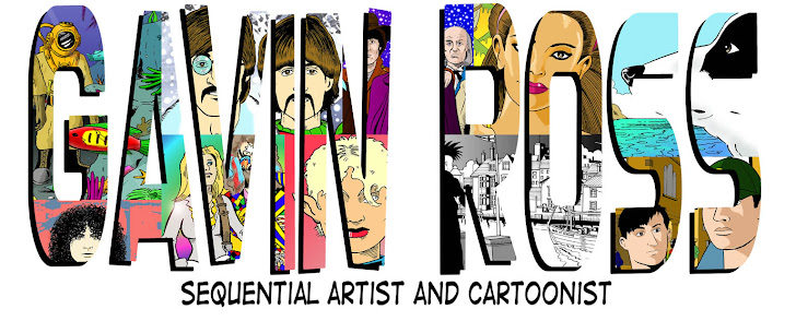 Gavin Ross - Sequential Artist/Cartoonist