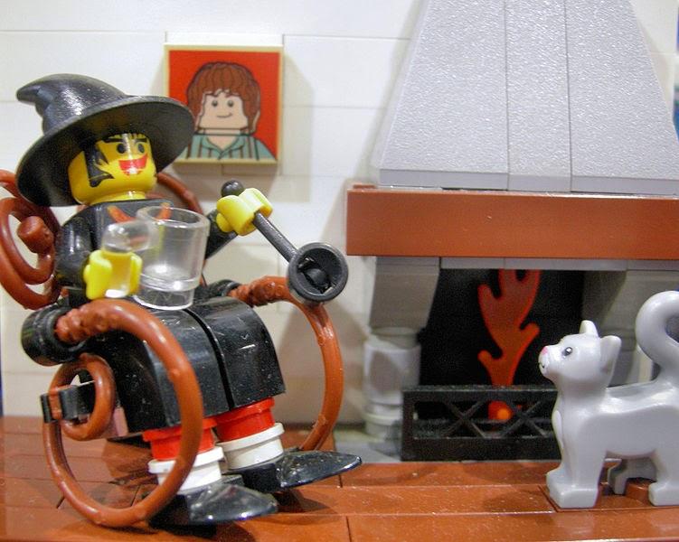 Lego Granny Weatherwax