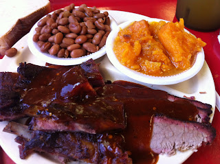 Two Poderns Bar-B-Que and Seafood Barbecue Barbeque BBQ Bar-B-Q Dallas DFW Ribs Brisket
