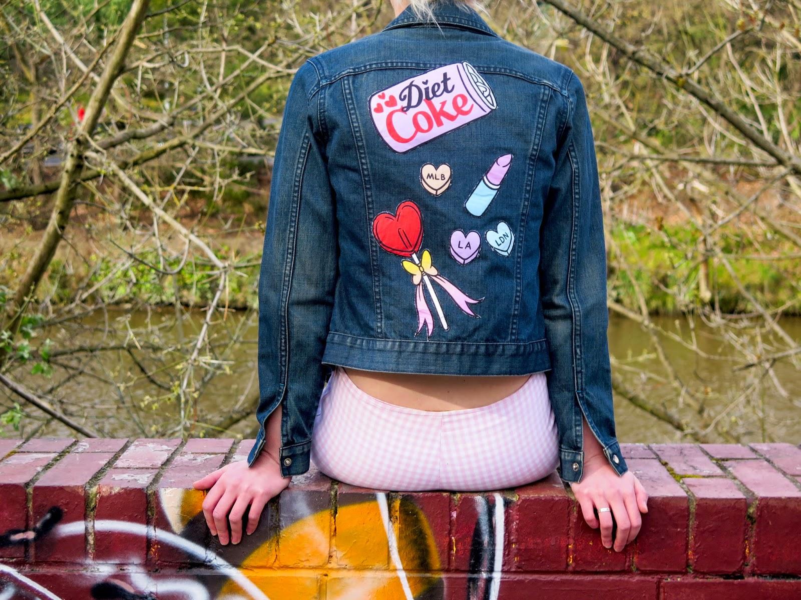 Hipbones And Heartbreak Diy Beibad Girl Jacket