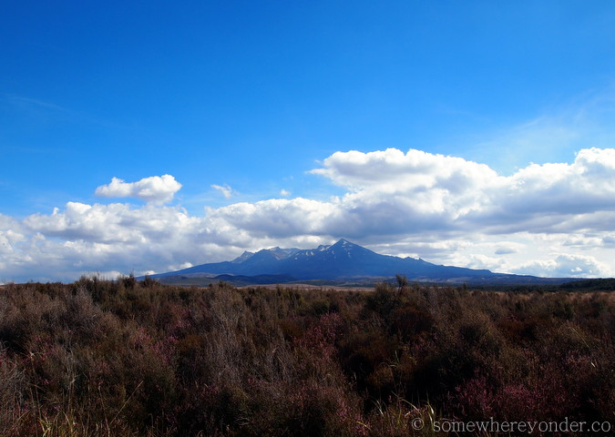 Mount Ruapehu - view from the Desert Road, New Zealand