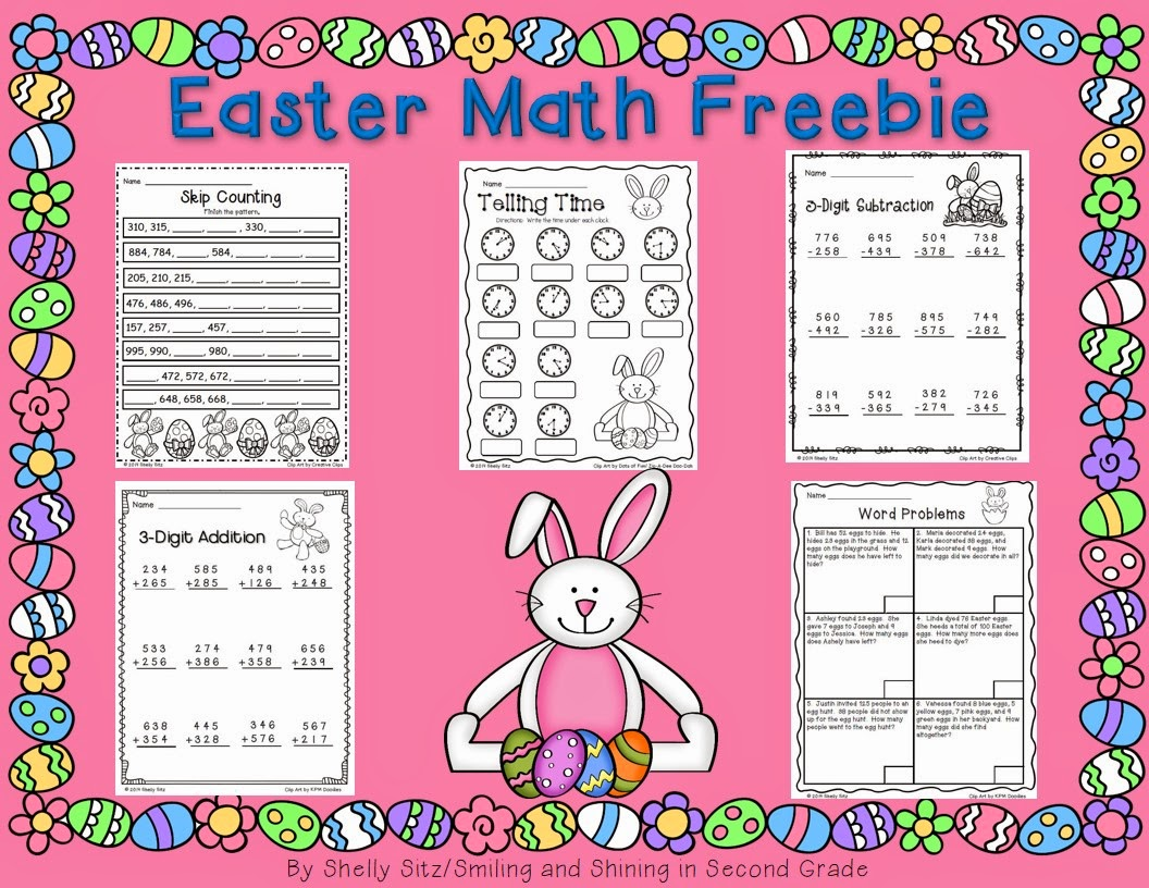 http://www.teacherspayteachers.com/Product/Easter-Math-Freebie-1181359