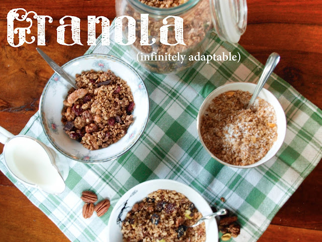 Granola, Infinitely Adaptable | Pavlova's Dog