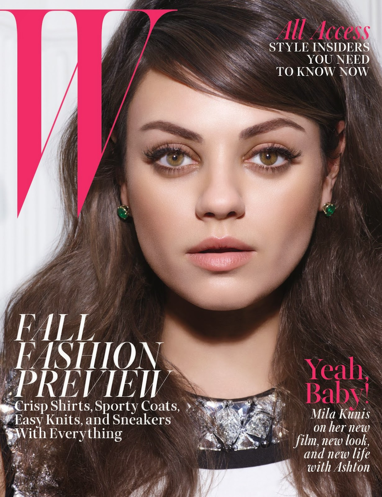 Mila Kunis - W Magazine, USA, July 2014
