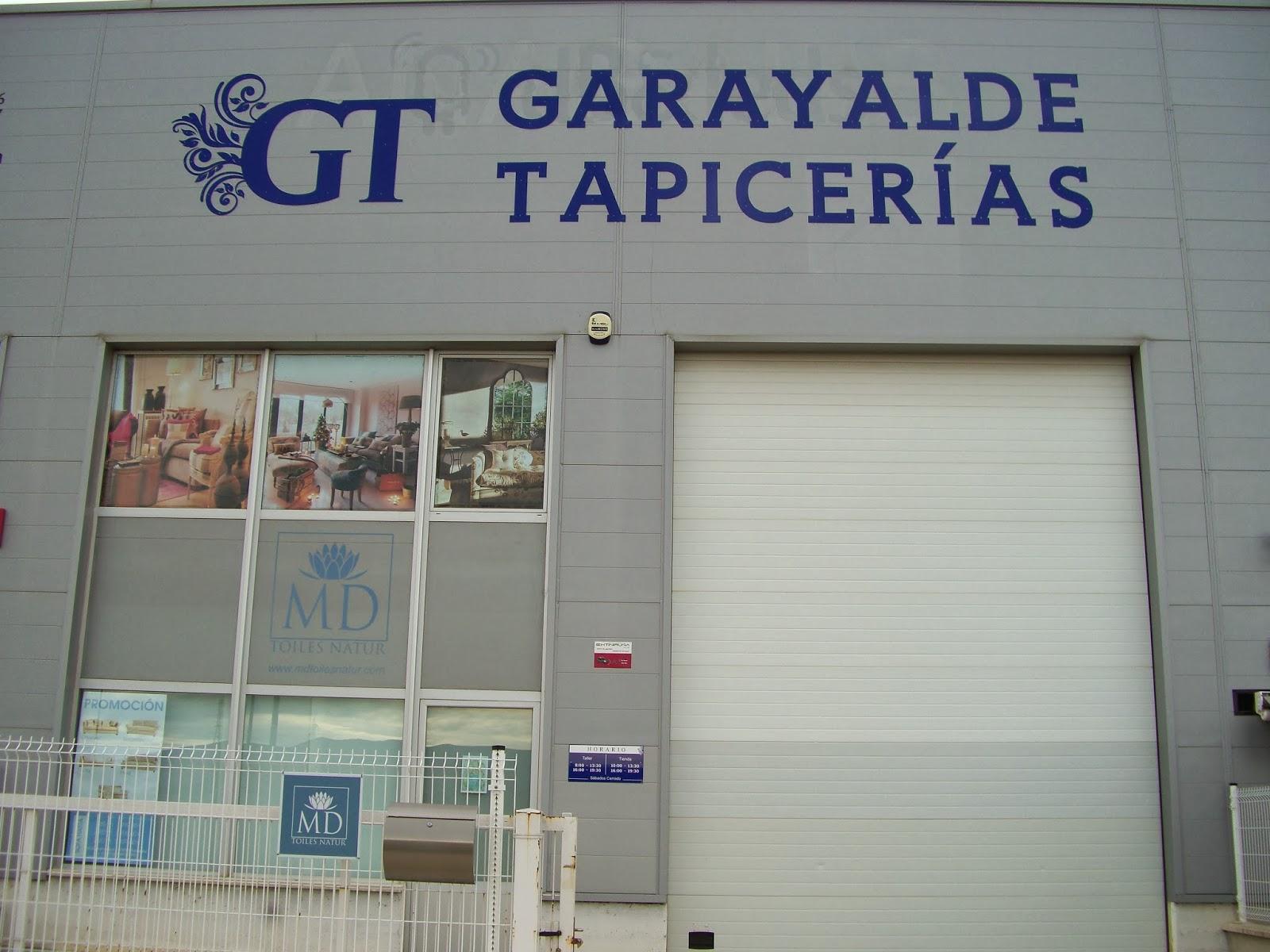 Calidad experiencia y profesionalidad tapicerias garayalde - Tapicerias en pamplona ...