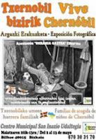 Exposición Fotográfica. Acogida Niños de Chernóbil