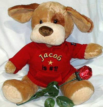 susan heim on parenting: teddy bears personalized valentine's day, Ideas