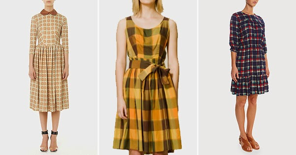 school style -Dress Anna Chapman