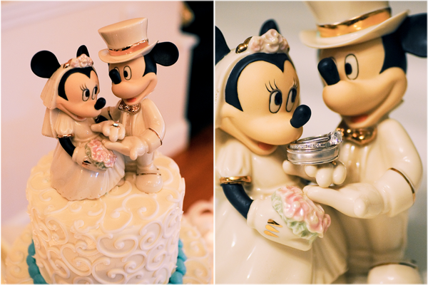 The key to pulling off a Disneythemed wedding amidst the desert scenery of