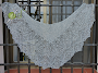 Hortense Beaded Lace Shawl