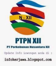 Lowongan Kerja BUMN Terbaru PTPN XII