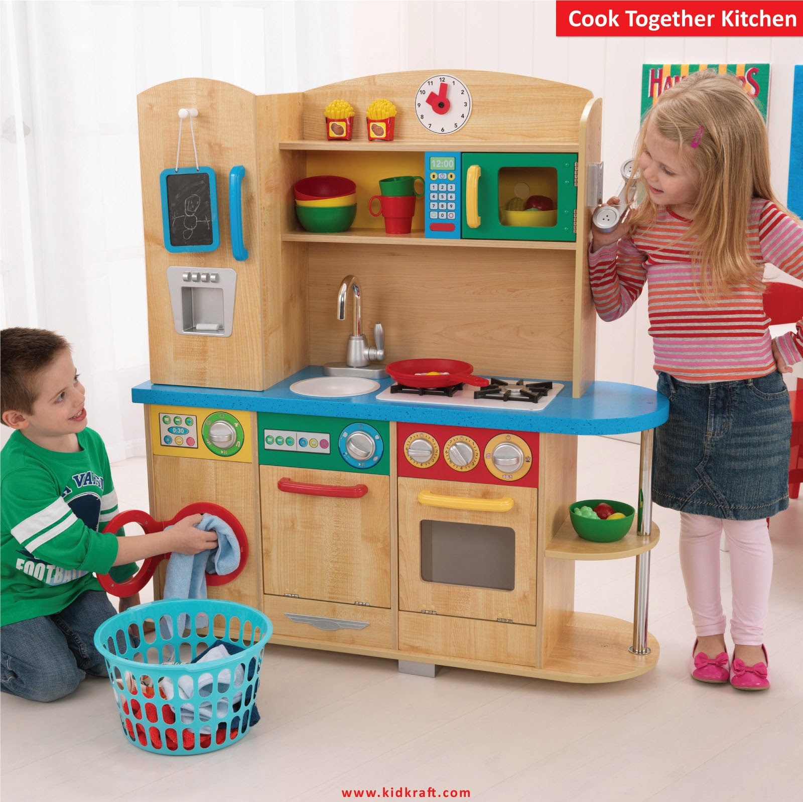 Kitchen Chairs For Cooking: KidKraft Toys & Furniture: In Stores Now! Cook Together