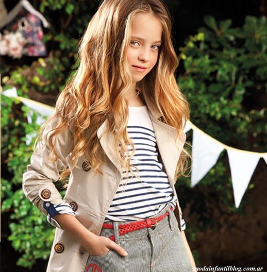 ropa de moda para nenas verano 2014