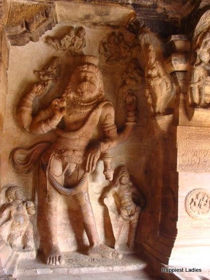 Badami Cave No3Vijaya Narasimha