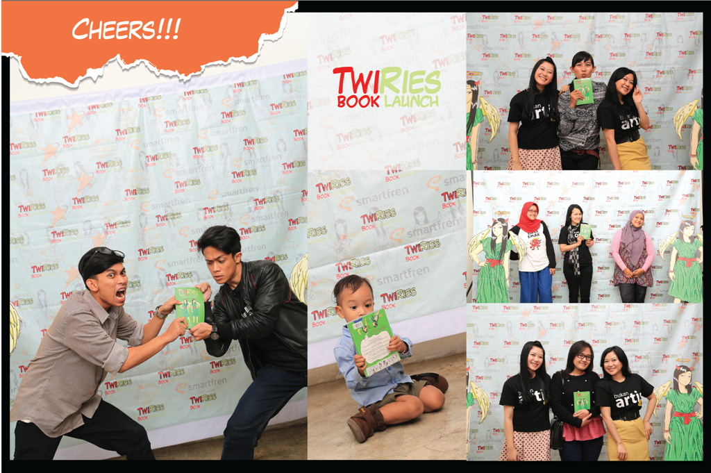 TwiRies Book Launch