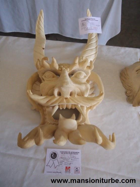 Tocuaro wooden masks
