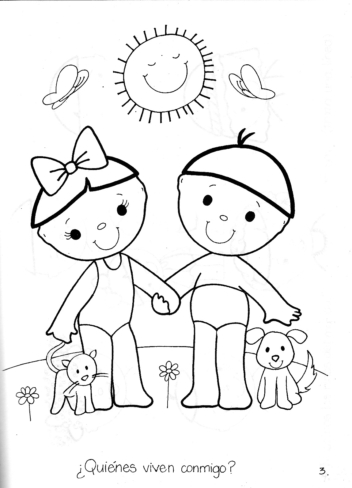 Tareas para imprimir para niños - Dibujos para colorear - IMAGIXS