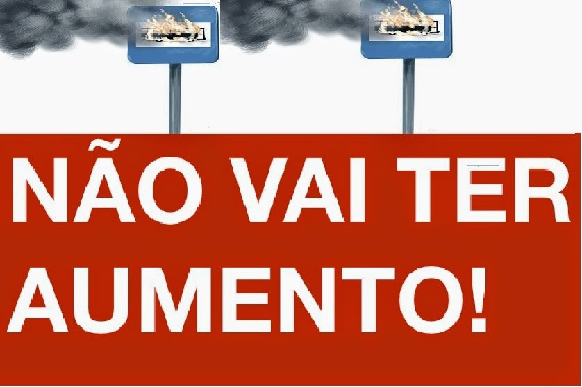 Se a Tarifa não baixar São Paulo Vai parar. É de 3 reais até Zerar.