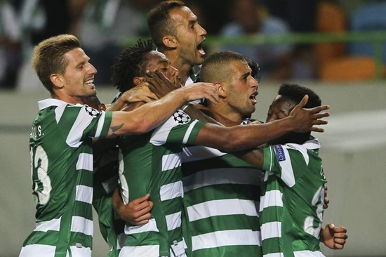Sporting CP 2 x 1 CSKA - Champions League 2015/16