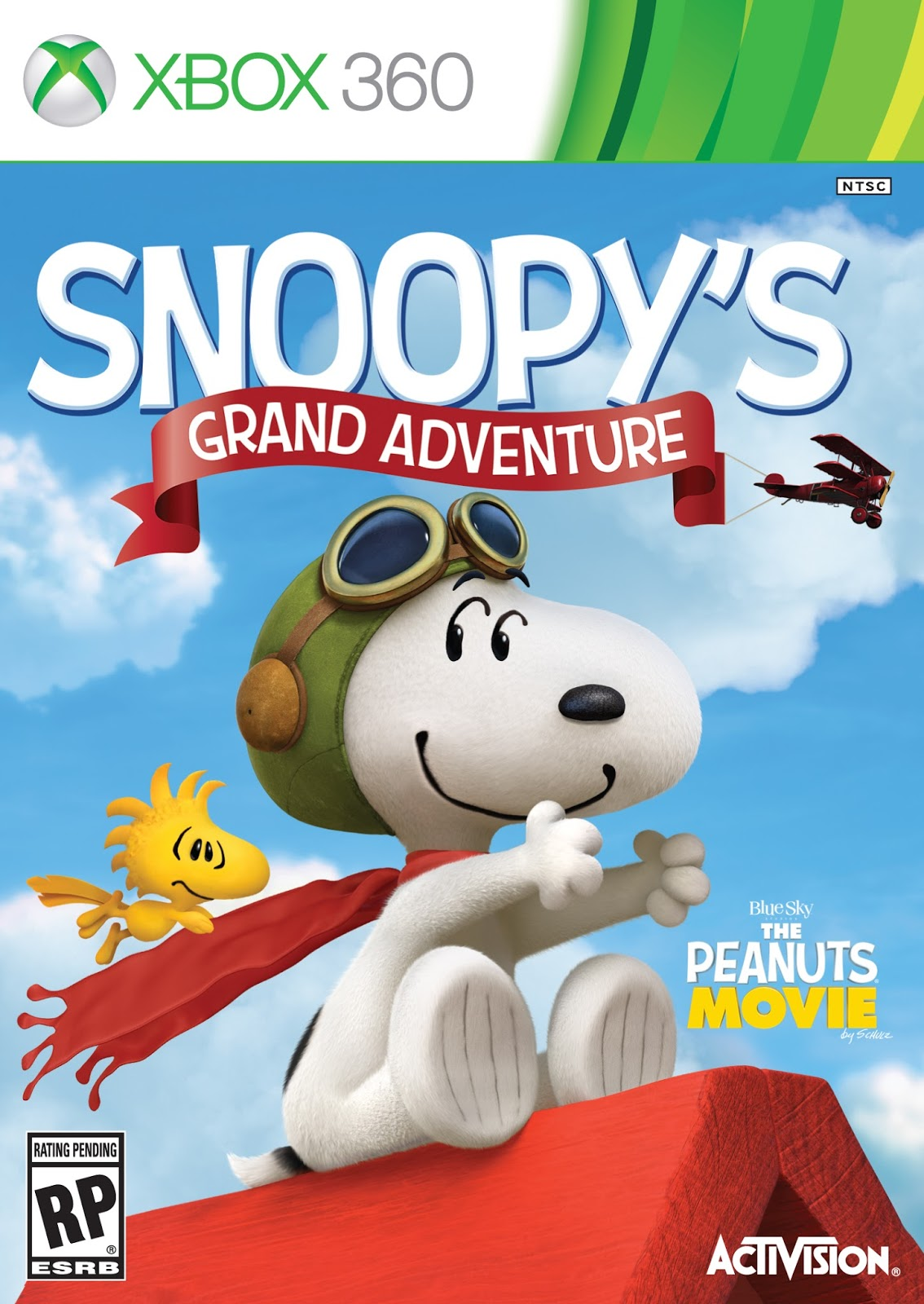 Snoopy's Grand Adventure ESPAÑOL XBOX 360 Cover Caratula