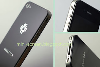 GooApple 3G, Android Powered 'iPhone' Rear and Back View