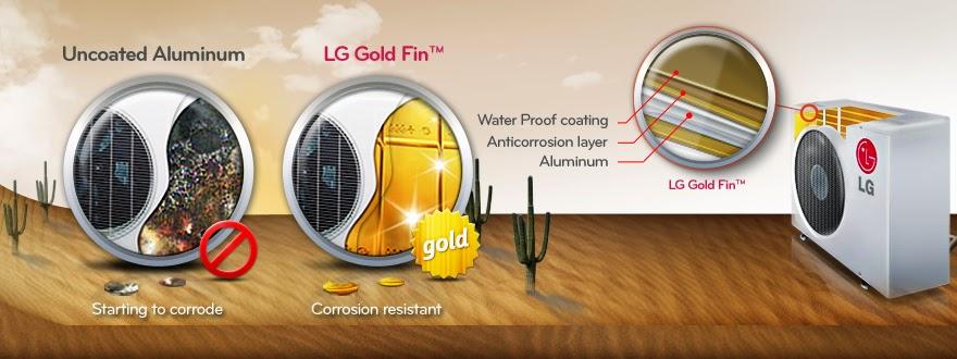 LG Gold Fin