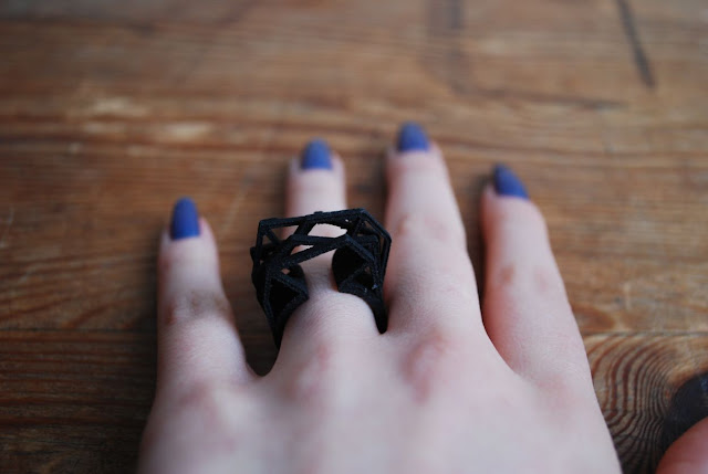 Ring aus dem 3D-Drucker