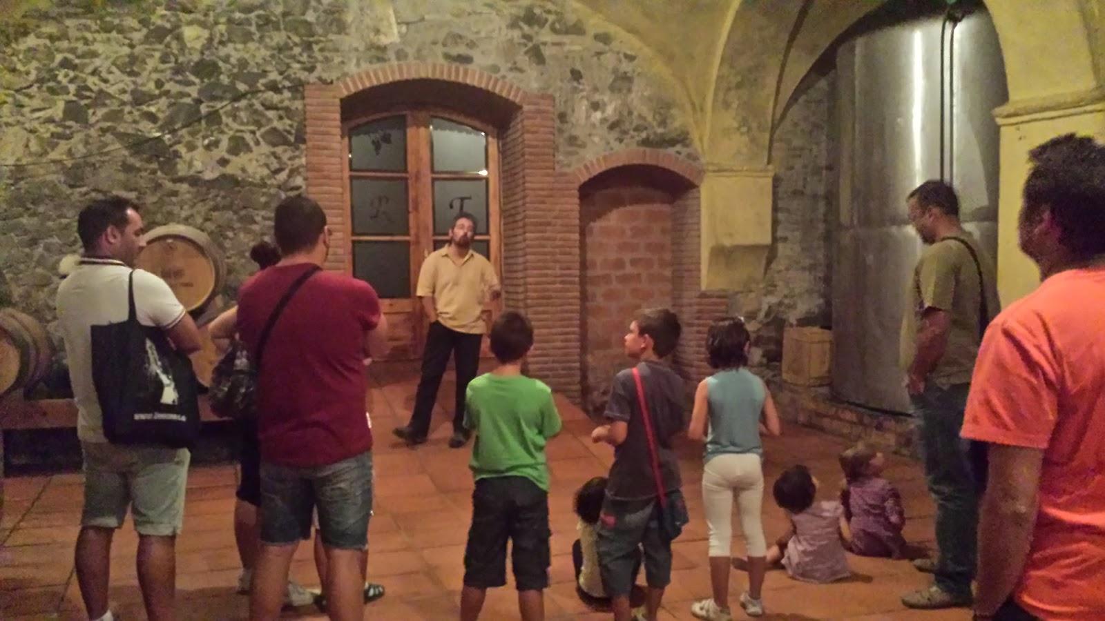 Grup aficionados al vino visita la bodega Rotllan Torra.
