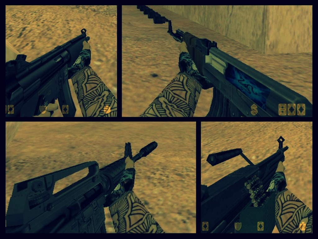 CS 1.6 RETEXTURE HD WEAPON PAC