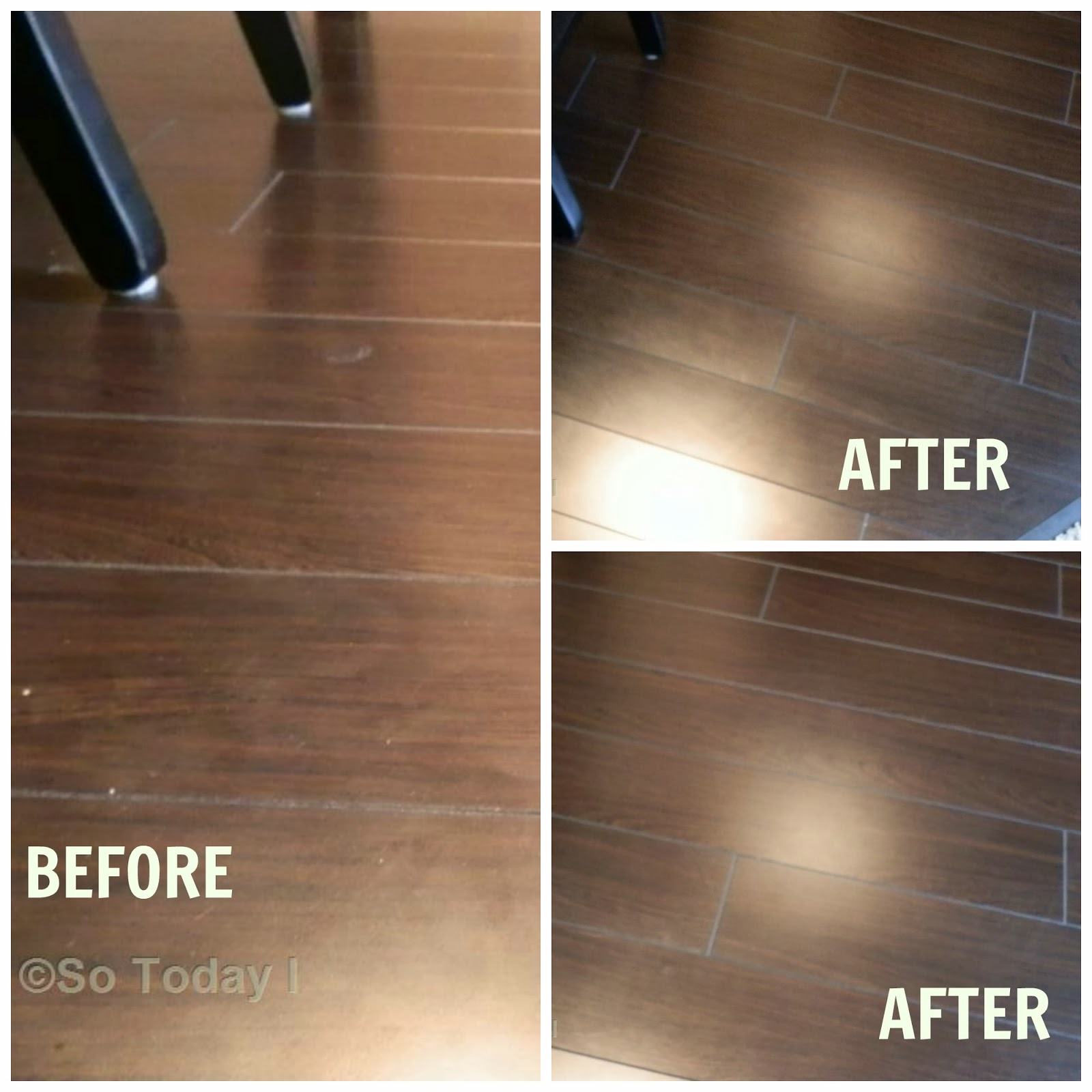 KEEPING MY DARK LAMINATE FLOORS SMUDGE FREE THE EASY WAY So - Shiny lino flooring