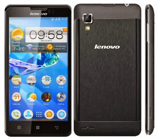 Lenovo P780 Mobile Phone have 4000mhA battery with 43 hours' talk time
