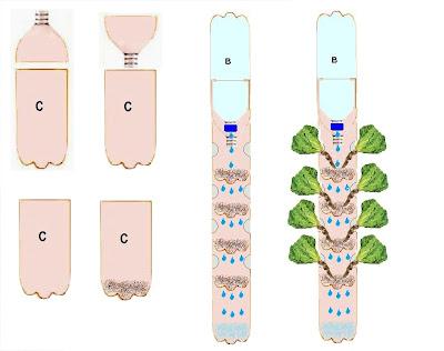 Con ciencia verde for Como se realiza un huerto vertical