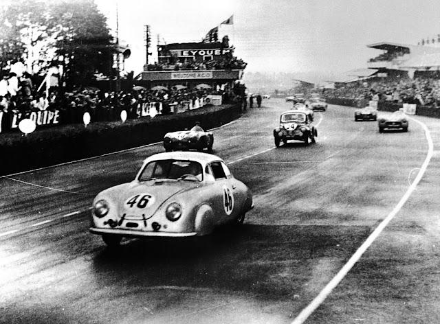 Porsche 356 SL Coupe, 1950 г.