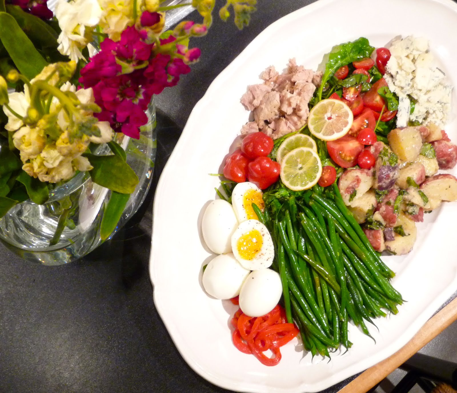 Thursday Night Nicoise Salad
