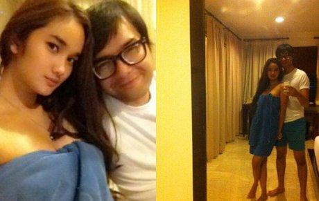Faby Marcelia dan Revand Narya di Sebuah Kamar