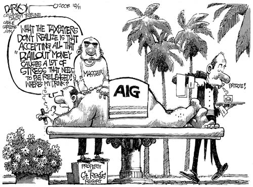 aig scandal What the aig bonus scandal has illuminated the shock is not the greed, inequity and political complicity, but seeing it so starkly.