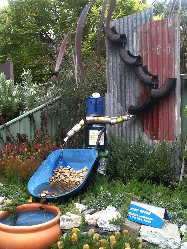 MIFGS 2012 :: recycling ideas for the garden... — GLAMOUR DROPS