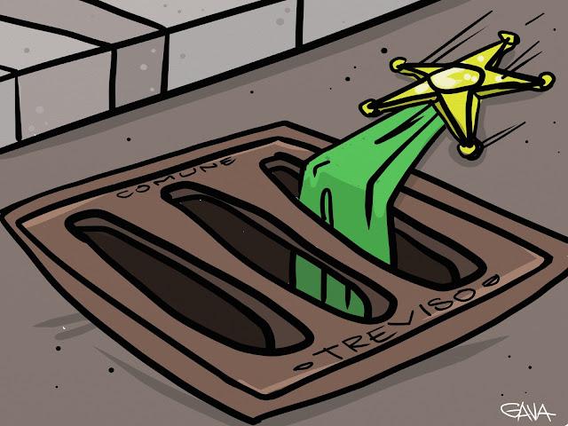 gava gavavenezia satira vignette caricatura gentilini ttrreviso elezioni lega
