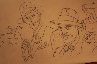 Bernard Burroughs sketch