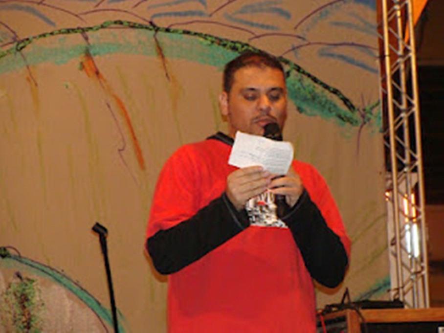 Poeta André Vasconcelos