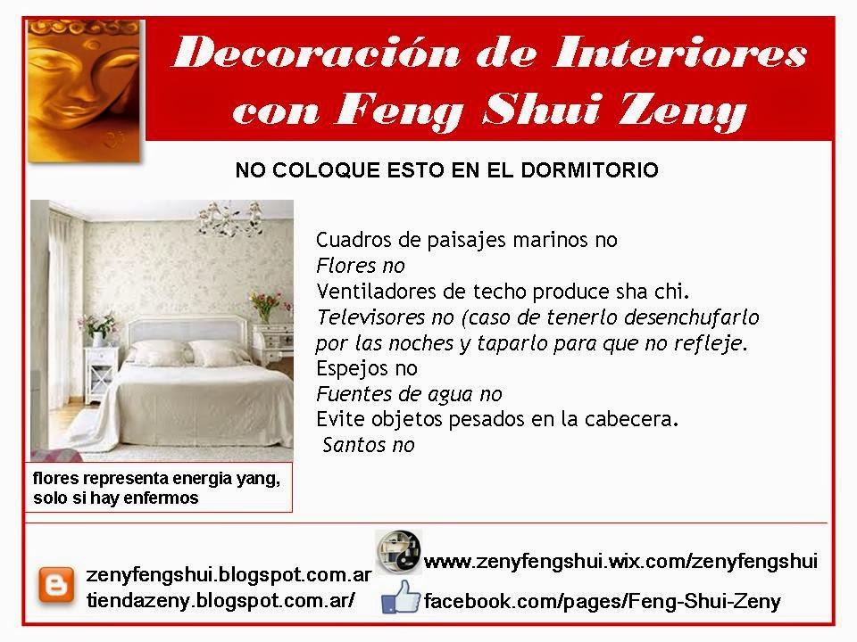 Zen y feng shui tao feng shui dormitorios for Decoracion de living feng shui