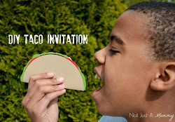 DIY Taco Invitation